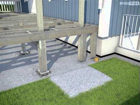 terrasse trapp vinkel byggmax tips bygg terrasse del 4 bygg trapp youtube
