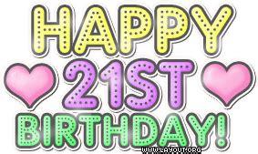 Happy 21st Birthday Quotes Happy 21st Birthday Daughter Quotes Quotesgram