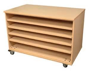 5 adjustable shelves paper storage units