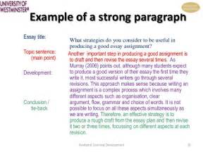 Closing Paragraph Essay Exle by Academic Writing Skills For Work