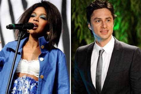 lauryn hill zach braff 30 celebrities who went to high school together page 15