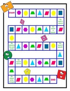 printable game board shapes 1000 images about vormen on pinterest shape shape