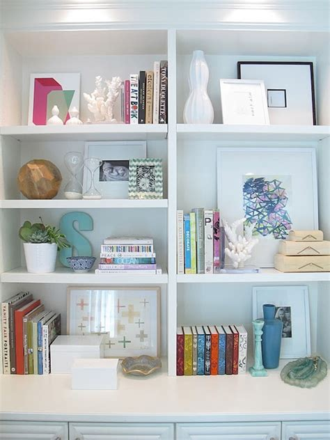 bookcase decor styled bookcase contemporary den library office