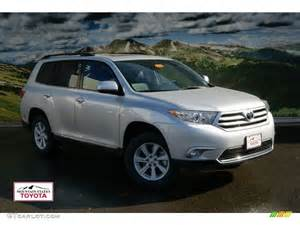 toyota highlander colors 2012 classic silver metallic toyota highlander se 4wd