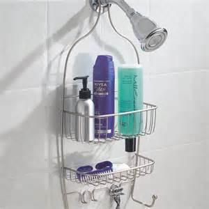non slip shower caddy family bathroom organizer shoo