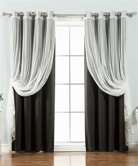layering curtains 25 best ideas about layered curtains on pinterest