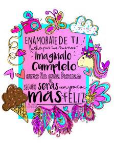 imagenes de unicornios con frases bonitas enamorate de ti frases en espa 241 ol unicornios color