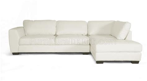 cheap white leather sectional sofa orland sectional sofa white bonded leather wholesale interiors