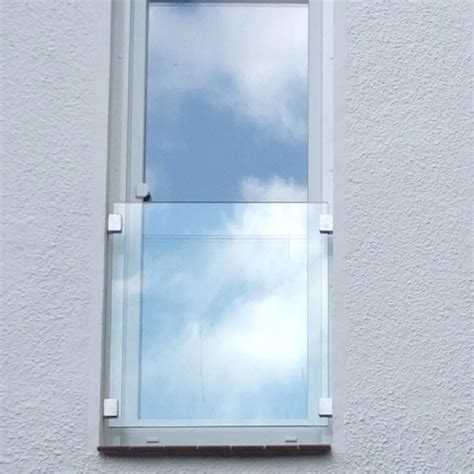 eingangstür mit glas franz 246 sischer balkon aus glas glasprofi24