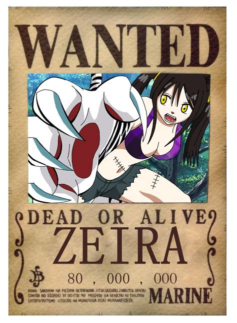 membuat poster wanted one piece one piece zeira s wanted poster by blueraina16 on deviantart