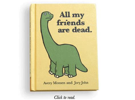 and all friends books all my friends are dead gif