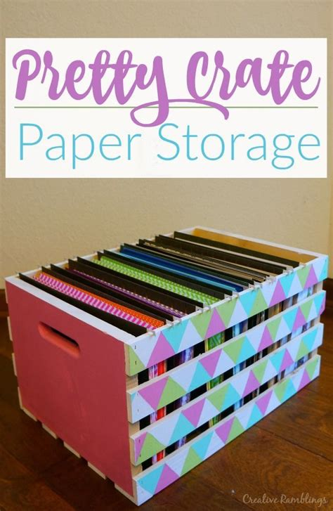 How To Make A Paper Organizer - best 25 paper storage ideas on