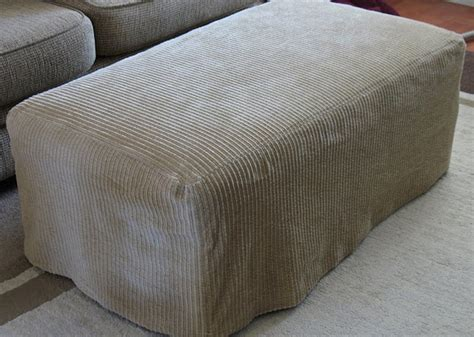 how to make a slipcover for an ottoman ottoman slipcover home decor pinterest