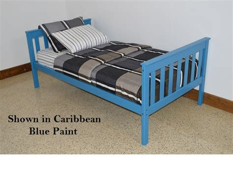 twin bed guard rail platform bed with guard rail versa style twin or full size