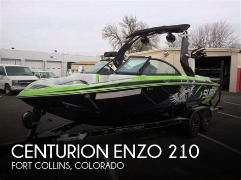 boat sales fort collins for sale used 2015 centurion enzo 210 in fort collins
