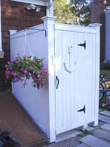 Outdoor Shower Ideas Back Yard