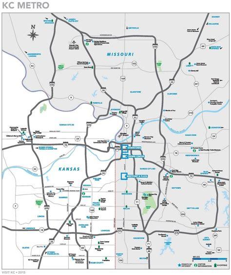 map of kansas city kansas city metro area map