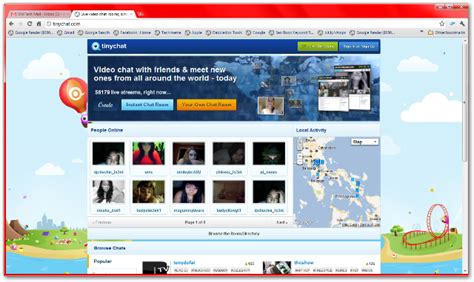 tinychat a web based video chat room tinychat lets you create video chat rooms to chat with