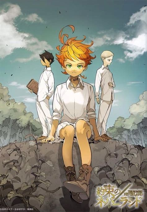 the promised neverland vol 2 the promised neverland anime amino