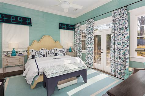 teal schlafzimmer accessoires teal grasscloth transitional bedroom colordrunk design