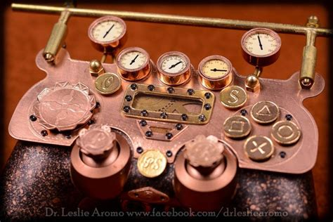 Dr Closet by Steampunk Ps4 Gaming Controller Is Fit For The Victorian