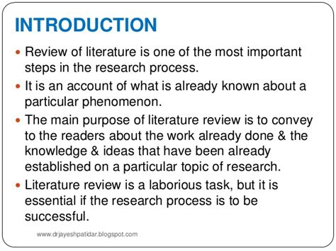 sle of literature review for research paper review of the literature sle for a research paper 28