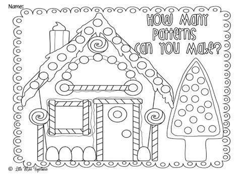 printable gingerbread house patterns to color christmas gingerbread house pattern coloring coloring pages