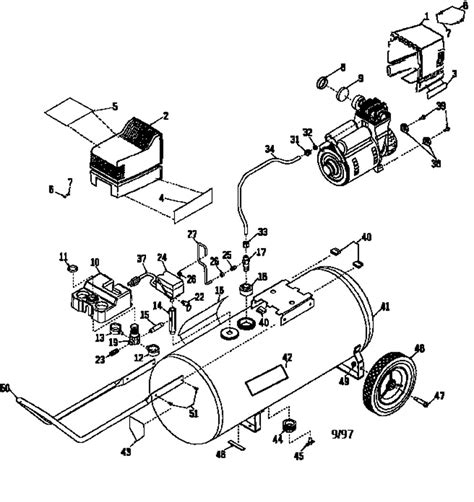 sears craftsman 919 165300 air compressor parts