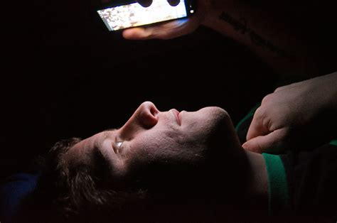 phone in bed cell phones proven to disrupt sleep cycles the sheaf