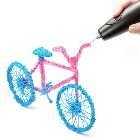 how to use a 3d doodle pen 3doodler the world s 3d drawing pen from brookstone
