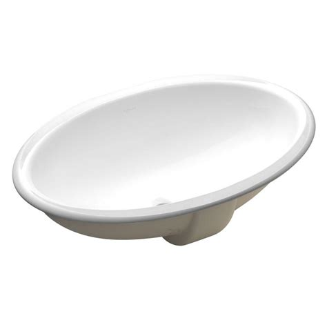 kohler bathroom sink drain kohler vintage vitreous china undermount bathroom sink in