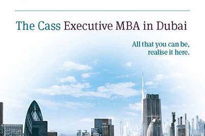 Mba Cost In Uae by Emba In Dubai Uae Middle East Cass Business School