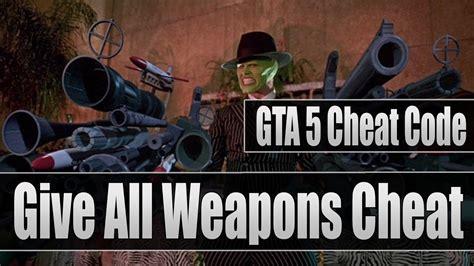 gta  cheat code give  weaponsguns cheat code