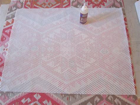 diy rug backing diy kilim rug the honeycomb home