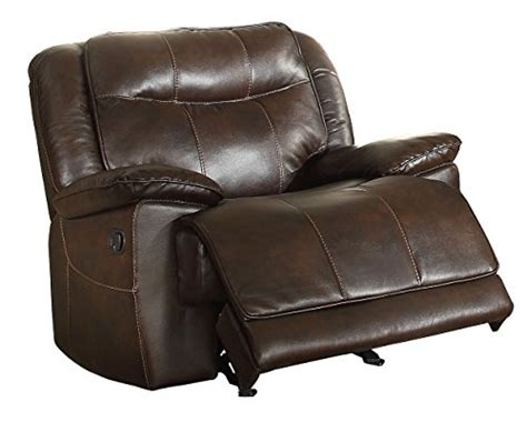 plush recliner chair product reviews buy homelegance glider recliner plush