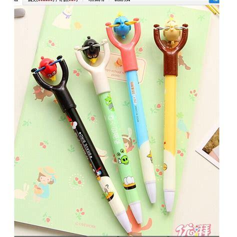 Pulpen Gel Kelinci 0 38mm Mc Slingshot Toys Angry Bird Pen School Supplies Pulpen