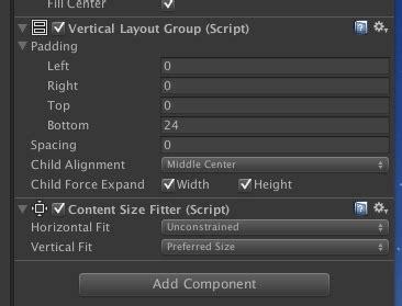 unity layout padding ios用のレスポンシブなuiをつくる unityな日々 unity geek