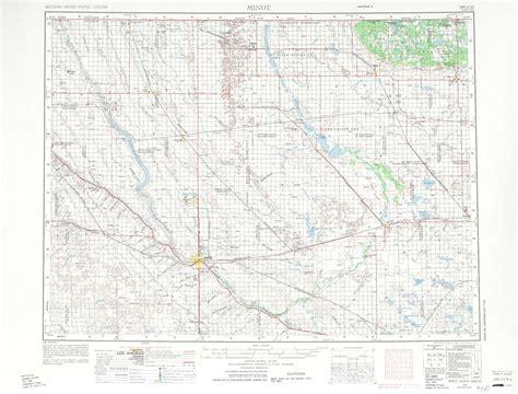 minot dakota map minot topographic maps nd usgs topo 48100a1 at 1