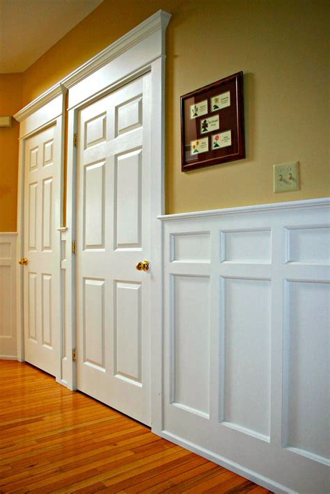 Wall Wainscoting by Wainscoting Installation By Deacon Home Enhancement Idea