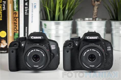 Kamera Canon 700d Vs 600d canon eos 700d czy eos 600d kt 243 r艱 lustrzank苹 kupi艸 fotomaniak pl