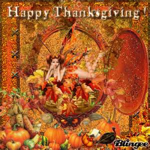 how was thanksgiving created happy thanksgiving picture 75279268 blingee com