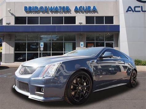 Pre Owned Cadillac Cts V by Pre Owned 2013 Cadillac Cts V Stealth Blue Edition 2dr