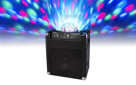 speakers with lights block party portable wireless speaker system with party