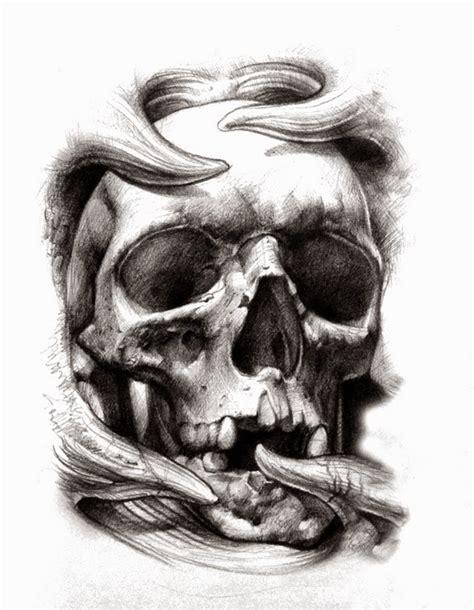 Imagenes De Calaveras Sombreadas | tatuajes de calaveras significado e ideas belagoria