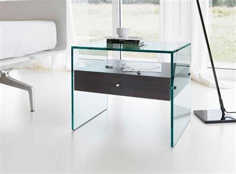 glass nightstands bedroom modern nightstands functional and decorative bedroom