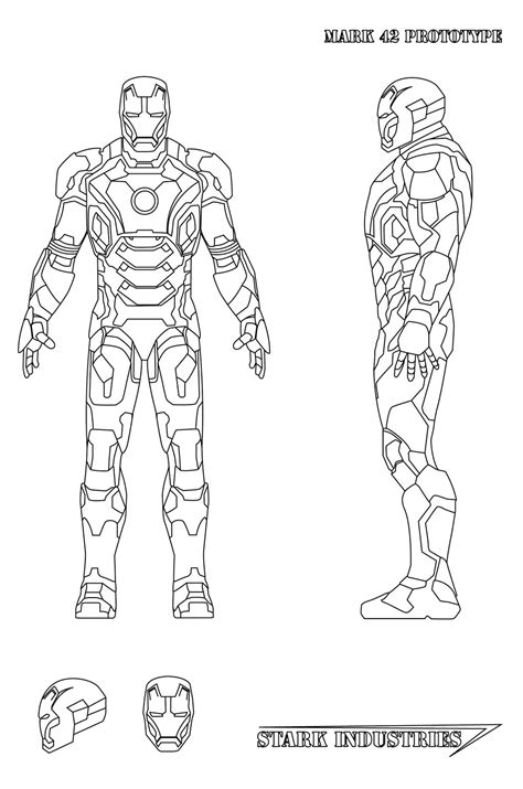 iron man mark 5 coloring pages iron man mark 2 free coloring pages