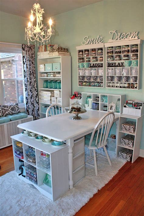 and craft room crafting a craft room the budget decorator