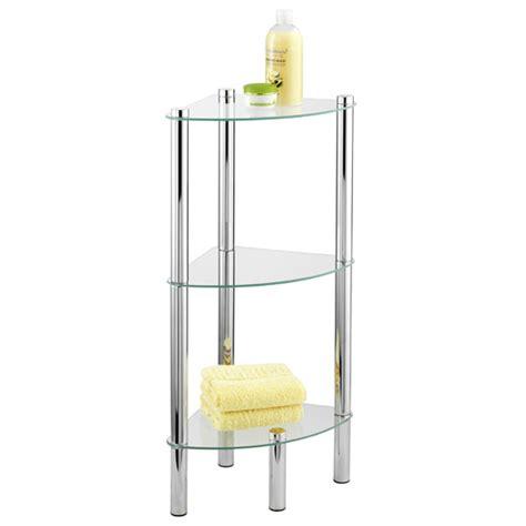 3 tier corner shelf bathroom wenko yago household and bath 3 tier corner shelf chrome 15850100 at victorian