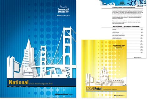 book layout rates bay area news group rate books annabel nguyen design