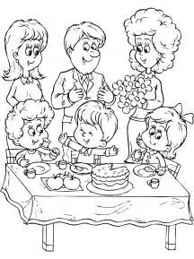 family coloring pages family coloring pages for in coloring coloringpagehub